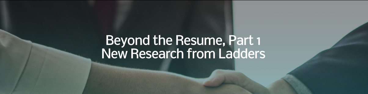 Beyond the Resume Banner
